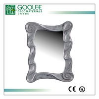 rectangle antique design decorative wall mirror with european style