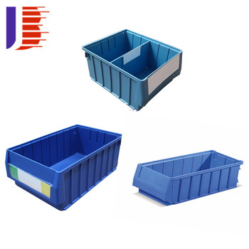 Beautiful Steel Handle Stackable Multi Functional Material   Box Plastic Stackable  Storage Bins
