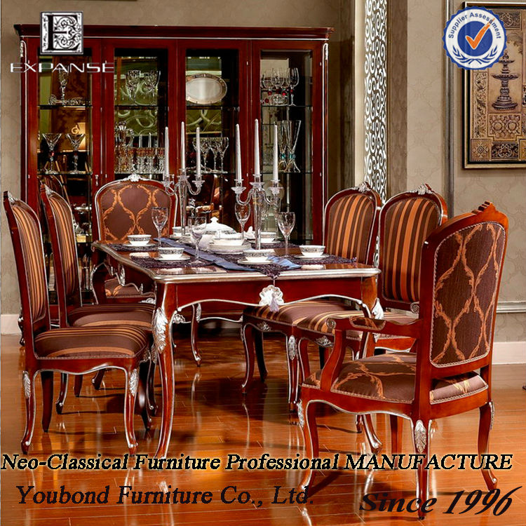 Long Dining Room Table: 2014 Neo-classicyb06 Long Dinning Table And Chair,Long
