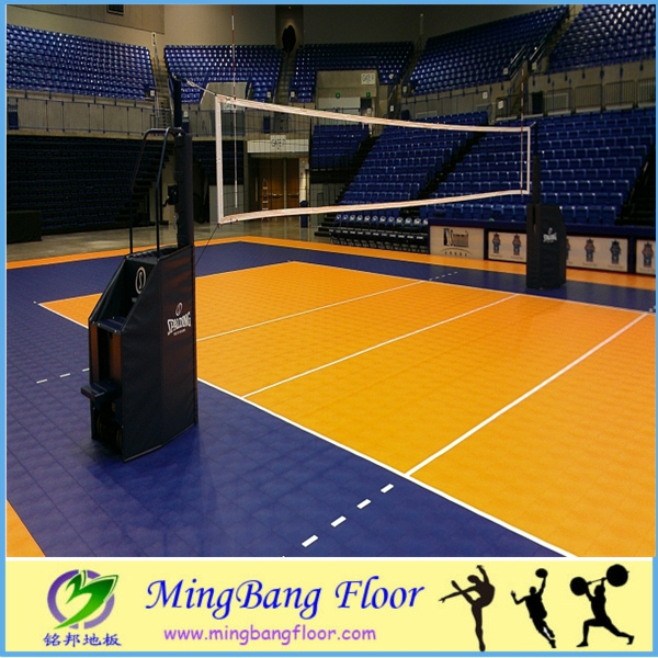 Best abrasion resistant outdoor volleyball court flooring for Indoor basketball court installation