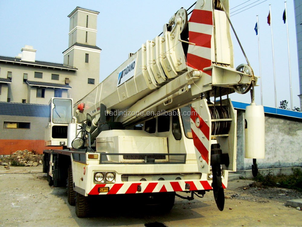 Used 50t mobile crane , TADANO TG500E truckoriginally from Japan , bestselling item