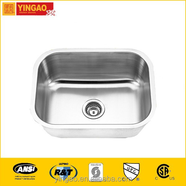 2318 discount single bowl kitchen sink installation on sale for you