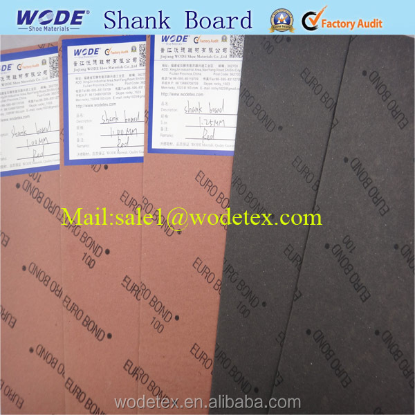 Insole and shank boards of Shank board for shoe insole and Shank board
