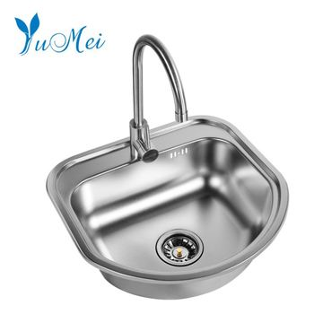 Stainless Steel Double Bowl Kitchen Sink Industrial Sink Kitchen Washing  Basin - Buy Kitchen Washing Basin,Single Bowl,Built-in Drainboard Kitchen  ...