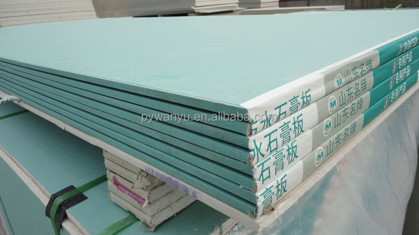 Durable moistureproof drywall board