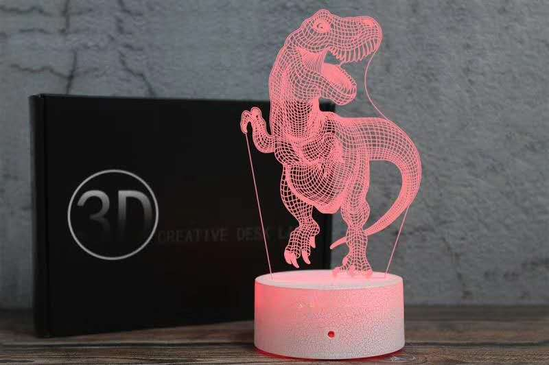 3D Unicorn Night Light, Decorative LED Bedside Table Lamp 7 Color Change Touch Mood for Kids Room Xmas Birthday Gifts