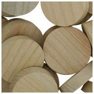 "WIDGETCO 1"" Maple Wood Plugs, Face Grain"