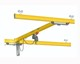 250 KG Free Standing KBK Light Crane System For Workstation