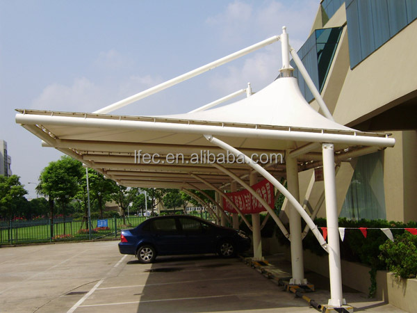 Customized Metal Construction Car Parking Shed