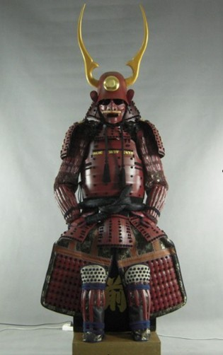 Japanese and Handcrafted samurai costume