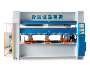 hot press for decoration board/hot press machine for plywood/hot press melamine laminating machine