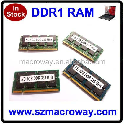 Lowest price laptop ram ddr memory ddr 400 512mb