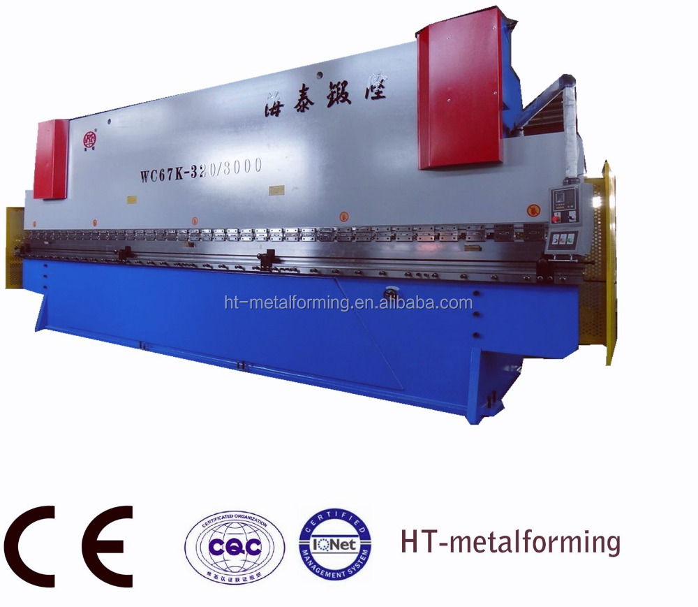 Hydraulic Press Brake, Model: WC67Y-300/6000 .thickness 8mm 6000mm
