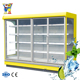 vitrine refrigerator supermarket equipment display cabinet