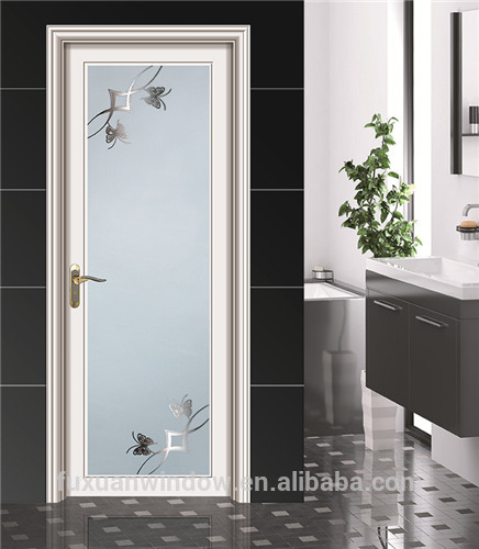 Nouvelle conception chine top marque battants en - Porte de bain en verre ...