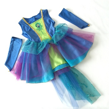 Halloween carnival fancy dress costume little girl dress