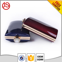 Factory Sale suede PU women leather party bag Clutch online shop