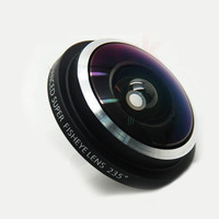 Universal Super Fish Eye Lens 235 Clip for iphone fisheye lens mini camera