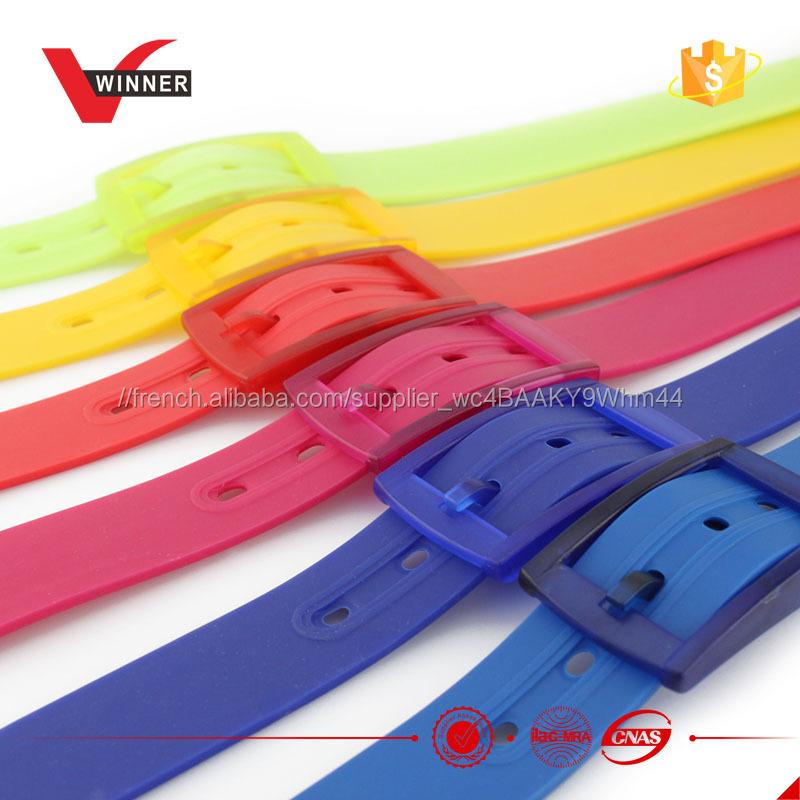 bas prix fc65a f1ca8 Couleur en mode ceinture arc-en-plastique ceintures réfléchissantes