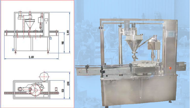 Packaging Machine Vial Powder Filling Machine Manufacturer