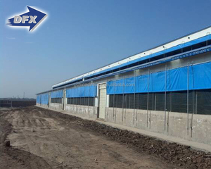 Steel Structure Complete Poultry Farm Shed Design for Pig/Cow/Goat