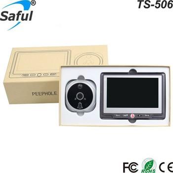 180 Degree Angle Door Viewers peephole camera with motion sensor  sc 1 st  Alibaba & 180 Degree Angle Door Viewers Peephole Camera With Motion Sensor ...