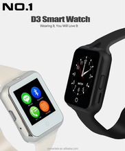 D3 smart watch china no.1 colourful fashion watch cheapest bluetooth mobile phone Emmanuel marcon smartwatch alibaba