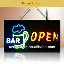 Flashing single&full color led sign outdoor advertising led display board