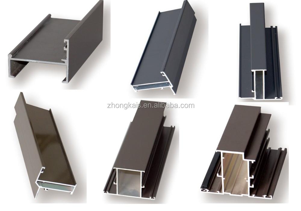 thermische onderbreking aluminium openslaand raam profiel aluminium profielen voor pergola buy. Black Bedroom Furniture Sets. Home Design Ideas
