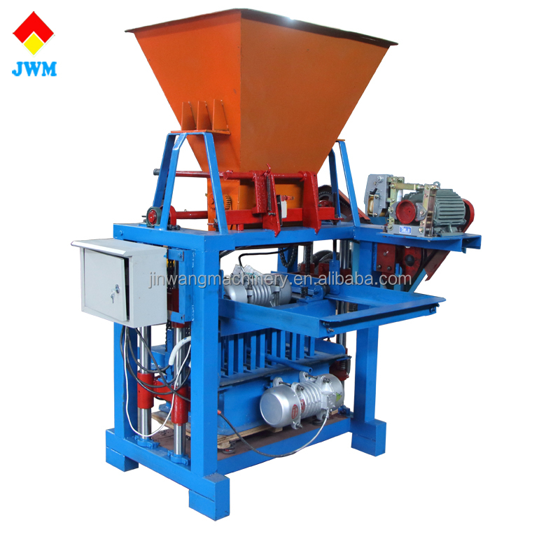 Chinese concrete block making machine price in pakistan/paving block making machine with long term warranty
