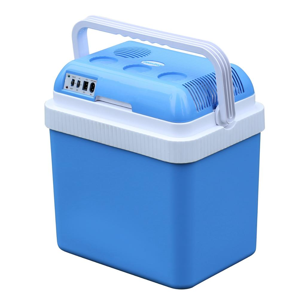 Mini Car Refrigerator Thermoelectric Cooler Warmer Fridge Box 12v 24l - Buy  Cooler Box,12v Cooler Box,Thermoelectric Cooler Warmer Product on