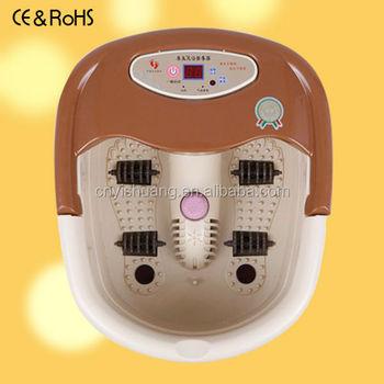 Pedicure Electric Washer Feet Detox Foot Spa Bath Aqua Cleanse ...