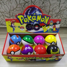 Promotional pokeball shape factory ball pokemon plush toy