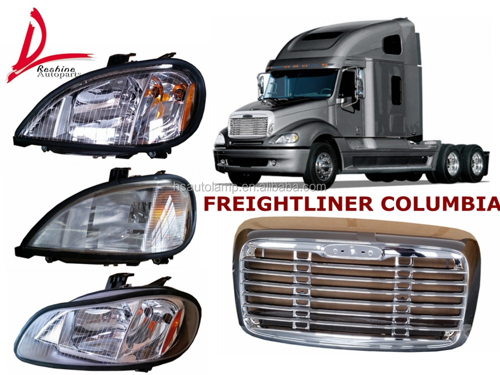 Auto Spare Parts For Freightliner Columbia American Truck