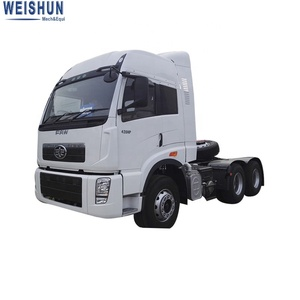 Cheap FAW 6*4 420HP Tractor Truck for Cargo Trialer