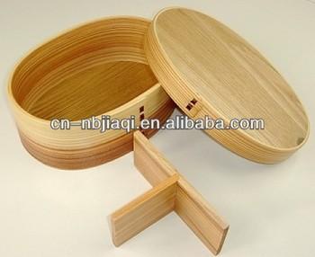 Neue Geschirr Bambus Lunchbox Geschirr Farbe Roung Grosshandel Bambus