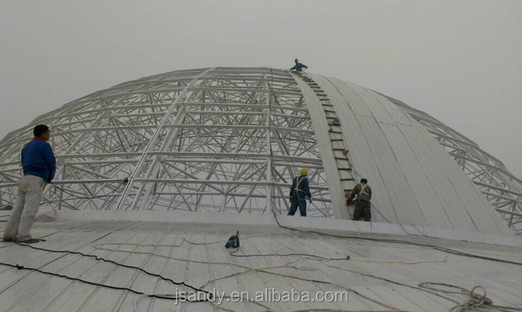 Aluminum Panel With Steel Structure Glass Dome Roof Design