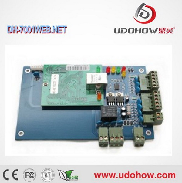 TCP/IP electronic control board for access control