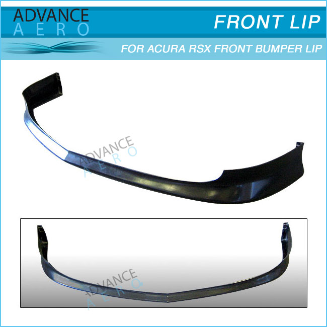 For 02-04 Acura Rsx Dc5 Tr Style Poly Urethane Front Bumper Lip ...