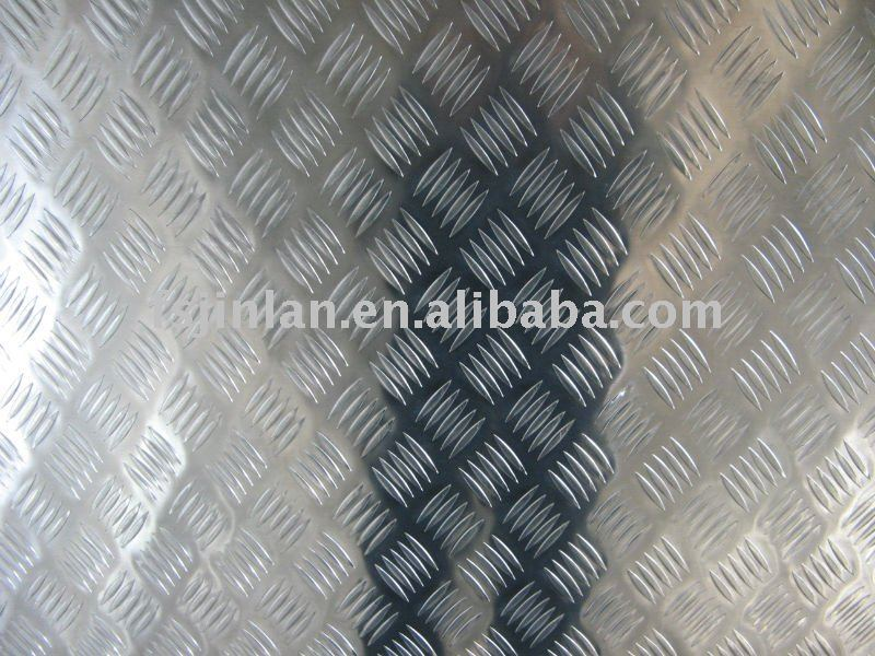 5 Small-bar Chequer Tread Aluminium Sheet