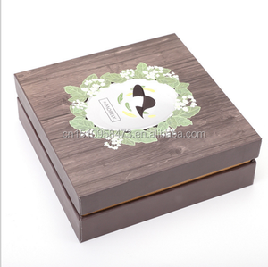 hard cover clamshell paper box for premium gift packing