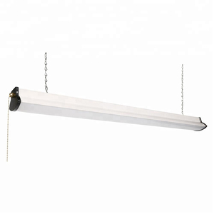 Commercial Office Linkable Available Linear Light Ceiling Mounted 4ft Led Shop Light Fixture