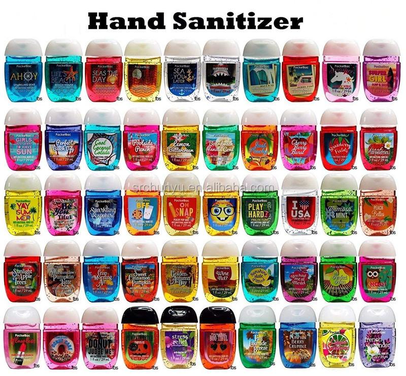 Commercio all'ingrosso di viaggi cura personale mini tasca antibatterica disinfettante per le mani