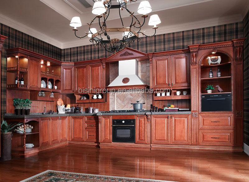 Cocina Americana Diseño,Personalizado Muebles De Cocina  Encimera,Tradicional De Madera Gabinete De Cocina (bf08-7038) - Buy Diseño  De Muebles De ...
