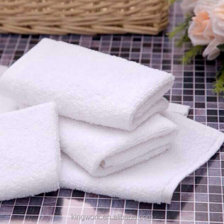White pure cotton small square towel kindergarten hotel 25 25gktv cotton terry towel