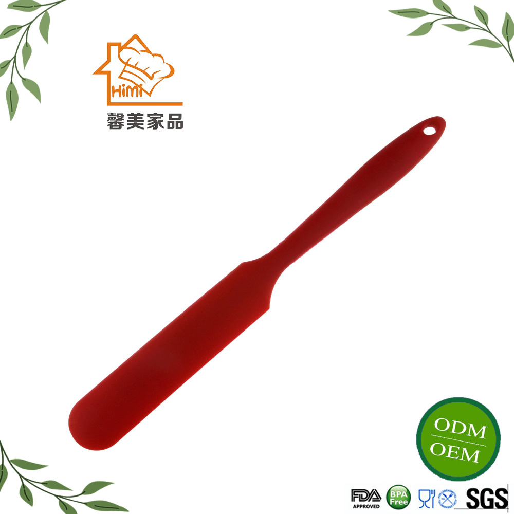 HIMI Non-Stick HigH Quality Unique Design-Knife Shaped Silicone Spatulas/Silicone scraper