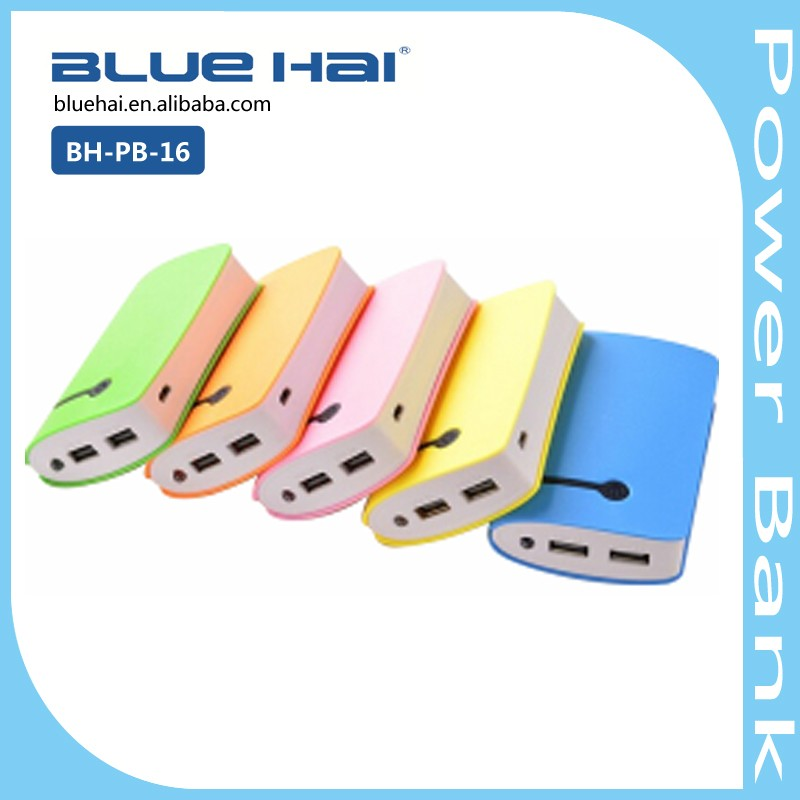 Hot Selling 2016 Factory Power Banks For Mobile Rohs Power Bank 8400mah