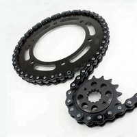 China supplier high quality motorcycle sprockets chain