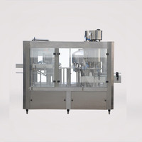 Automatic 3 in 1 rinsing filling capping bottled water filling machine