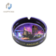 Hot sale customized sublimation ceramic ashtray for cigarette ash